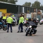 CONTROLE OUTLAW MOTORCLUB AMBACHT OOSTZAAN